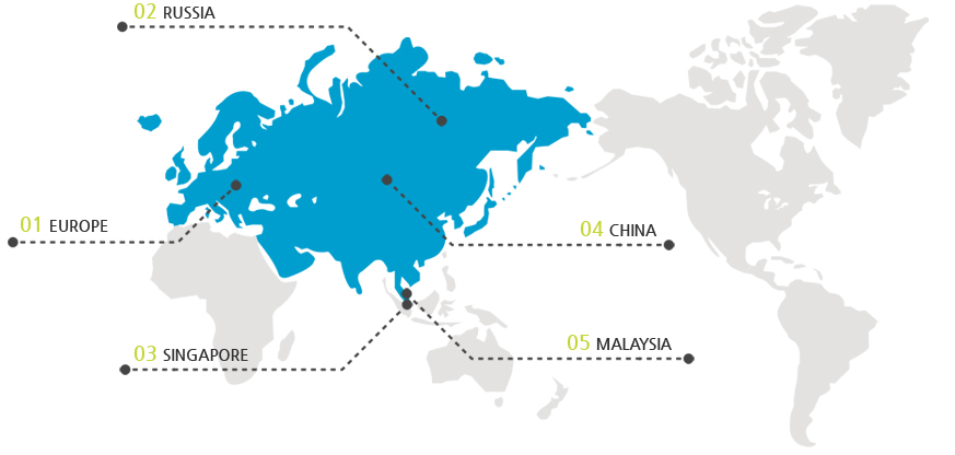 World Distributor Map
